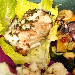 Grilled Sea Bass recipe
