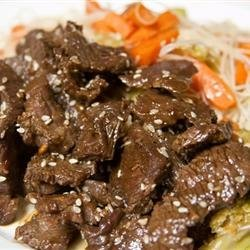 Awesome Korean Steak recipe