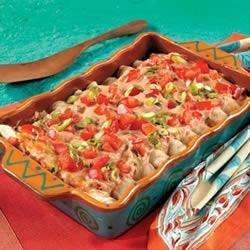 Campbell's Kitchen Creamy Chicken Enchiladas recipe