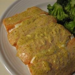 Goat Cheese Salmon recipe