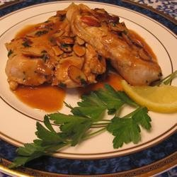 Almond Lemon Chicken