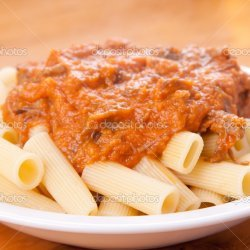 Beef Short Ribs With Rigatoni