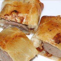 Huey's Lamb Sausage Rolls recipe