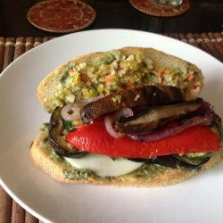 Grilled Vegetable Muffuletta recipe