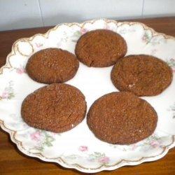 Grandma May's Molasses Cookies recipe