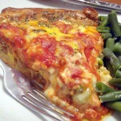 Sausage Pizza Pie