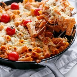 Chicken Tomato Mozzarella Bake
