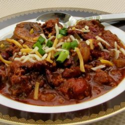 Redskins Tailgate Chili