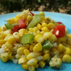 Sweet Corn Pepper Salsa recipe