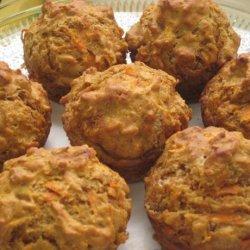 Moist Carrot Muffins