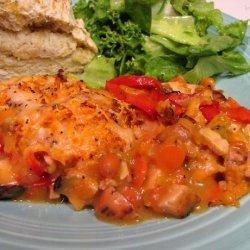 Chicken and Sweet Potatoes Casserole