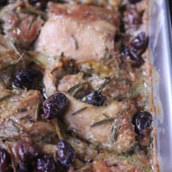 Chicken & Olive Bake