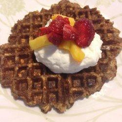 Flax Meal Waffles