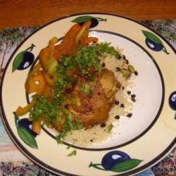 Moroccan Chicken With Pistachio Couscous