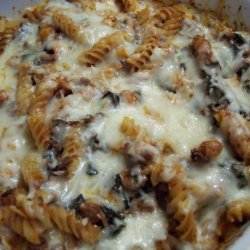 No Time!! Baked Pasta