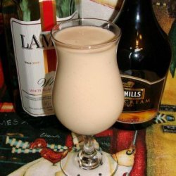 Bailey's Banana Colada recipe