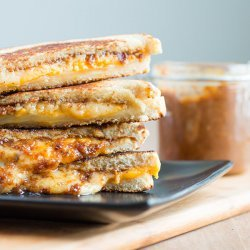 Jam and Cheese Sandwich