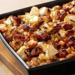 Apple Sausage Stuffing