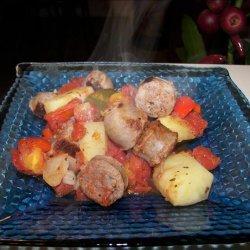 Italian Sausage and Potato Casserole