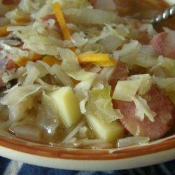 Polish Sausage and Cabbage Soup