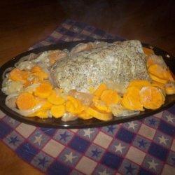 Crock Pot Sweet Potato Apple Pork Roast