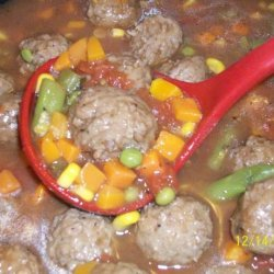 Weeknight Meatball Stew recipe