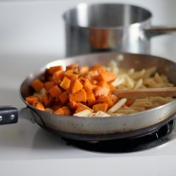 Pasta with Roasted Butternut Squash and Sage