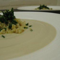 Creamy Vegan Cauliflower Soup