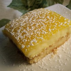 Mrs. Field's Triple-Layered Lemon Bars recipe