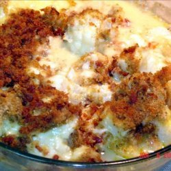 Cauliflower Gratine / Gratin
