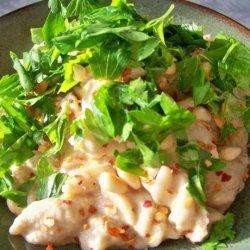Babganoush-Hummus Pasta (Vegan)