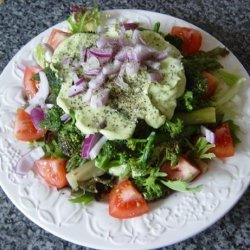Purple Sprouting Broccoli and Asparagus Salad