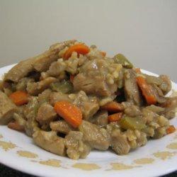 Mom's Delicious Chicken Rice Casserole