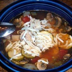 Low Carb Crock Pot Italian Vegetable Soup