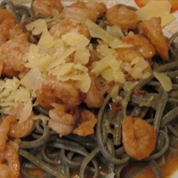 Chipotle Shrimp or Scallop Scampi With Fettuccine