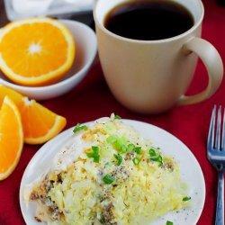 Breakfast Casserole in Crock Pot