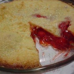 No Roll Cherry Pie