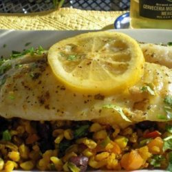 Foil Baked Tilapia With Fiesta Rice #RSC