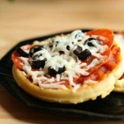 Waffle Pizza - Gluten Free