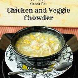 Crock Pot Chicken Veggie Chowder