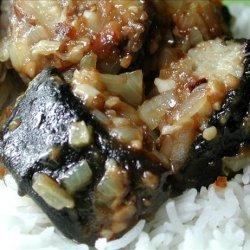Stir-Fried Eel With Black Bean