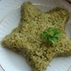 Arroz Verde Mexicano recipe