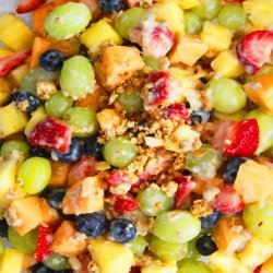 Yogurt & Granola Fruit Salad