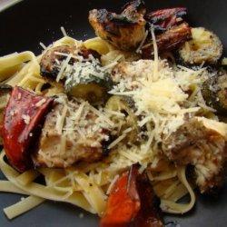 Grilled Italian Chicken & Vegetables