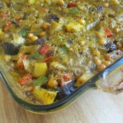 Potato Eggplant Casserole