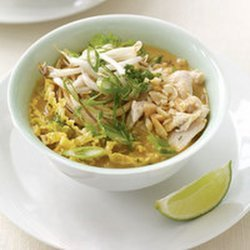 Chicken Satay Noodle Soup