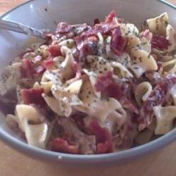Bacon and Sun-Dried Tomato Alfredo Pasta (Ww Recipe) recipe
