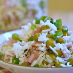 Basmati Rice Pilaf With Peas