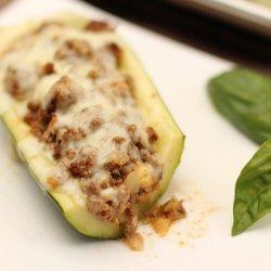 Mexican Stuffed Zucchini