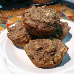 Orange-Pecan Oatmeal Muffins